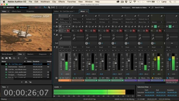Adobe Audition CC Free Download Overview