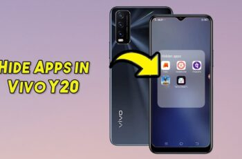 How To Hide Apps in Vivo Y20